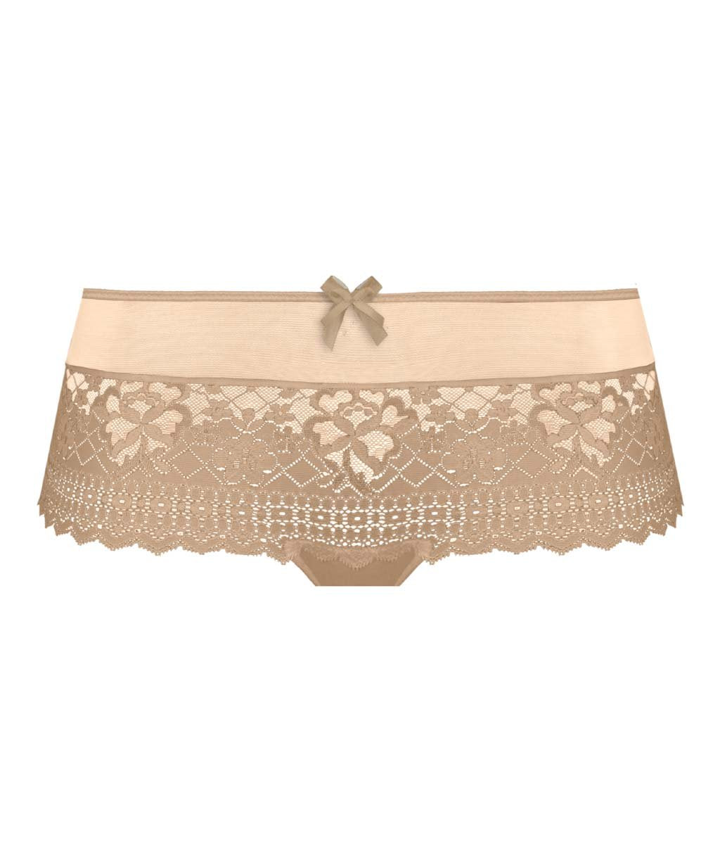 Empreinte 'Melody' (Caramel) Shorts (Hotpants) - Sandra Dee - Product Shot - Front