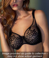 Empreinte 'Melody' (Black) Seamless Full Cup Bra - Sandra Dee - Collection Publicity Shot