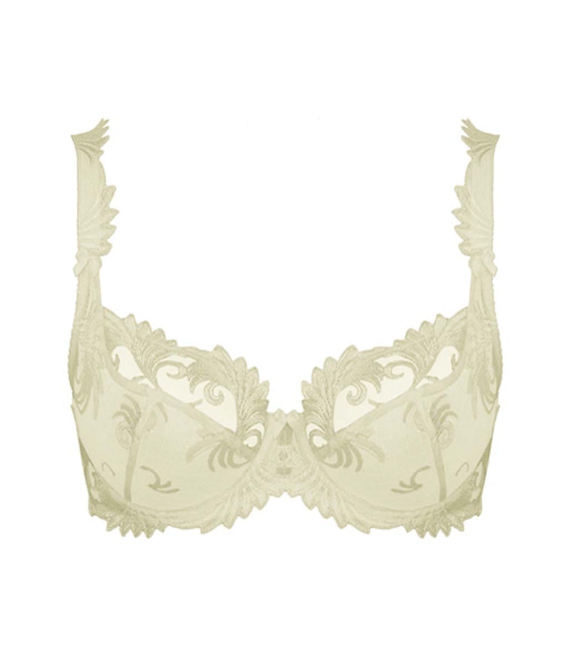 Empreinte 'Thalia' (Ivory/Perle) Low-Necked Bra - Sandra Dee - Product Shot - Front