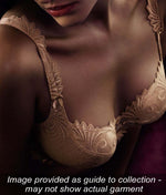 Empreinte 'Thalia' (Caramel) Seamless Padded Plunge Bra - Sandra Dee - Collection Publicity Shot