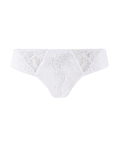 Eprise 'Guipure Charming' (White) Thong - Sandra Dee - Product Shot - Front