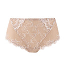 Eprise 'Guipure Charming' (Ambre Nacre) Full Brief/Retro Brief - Sandra Dee - Product Shot - Front