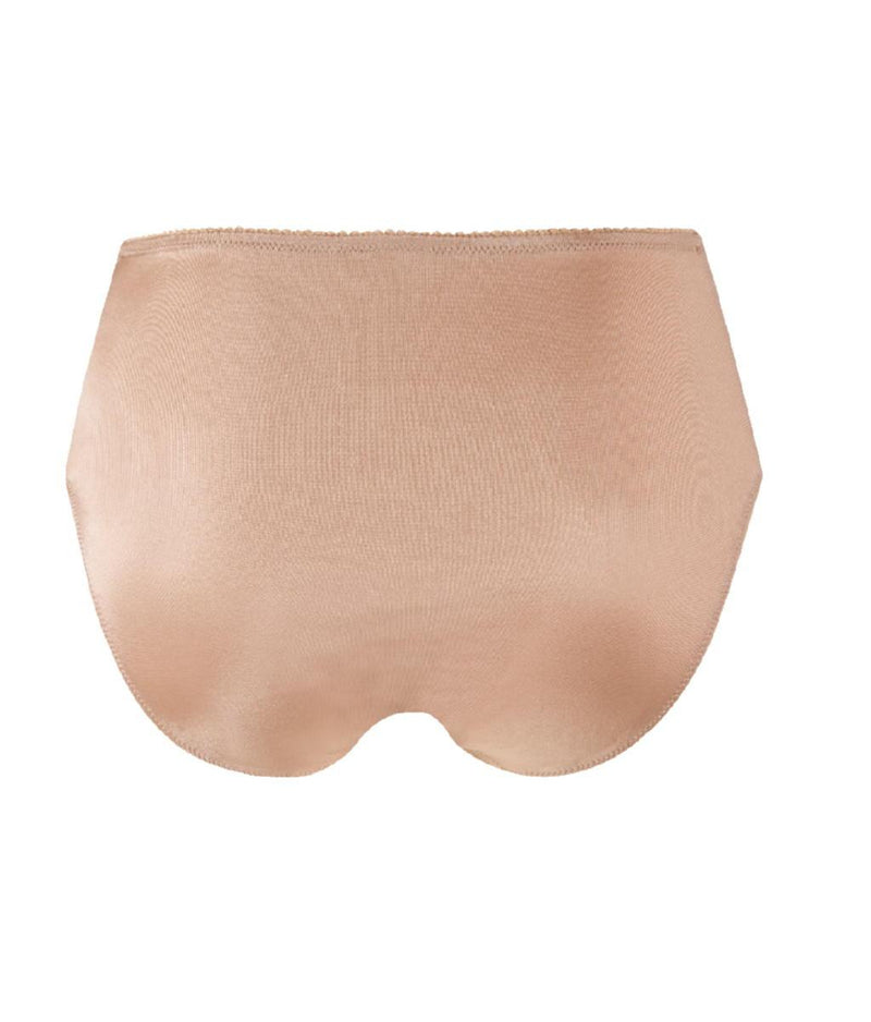 Eprise 'Guipure Charming' (Ambre Nacre) Full Brief/Retro Brief - Sandra Dee - Product Shot - Rear