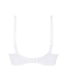 Eprise 'Guipure Charming' (White) Full Cup Bra - Sandra Dee - Product Shot - Rear