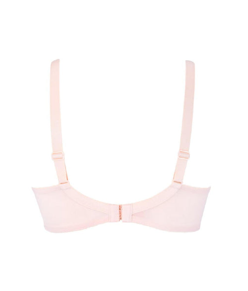 Eprise 'Guipure Charming' (Dressing Rose) 3 Part Full Cup Bra - Sandra Dee - Product Shot - Rear