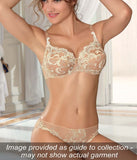Eprise 'Guipure Charming' (Ambre Nacre) Balconnet Bra - Sandra Dee - Collection Publicity Shot