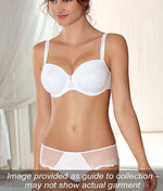 Eprise 'Guipure Charming' (White) 3 Part Full Cup Bra - Sandra Dee - Collection Publicity Shot