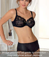 Eprise 'Guipure Charming' (Noir) 3 Part Full Cup Bra - Sandra Dee - Collection Publicity Shot