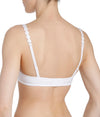 L'Aventure 'Tom' (White) Moulded Multiway Full Cup Bra BC - Sandra Dee - Model Shot - Rear