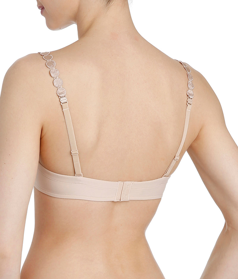 L'Aventure 'Tom' (Caffé Latte) Moulded Multiway Full Cup Bra DEF - Sandra Dee - Model Shot - Rear