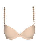 L'Aventure 'Tom' (Caffé Latte) Push-Up Plunge Bra - Sandra Dee - Product Shot - Front