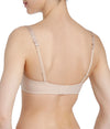 L'Aventure 'Tom' (Caffé Latte) Strapless Bra - Sandra Dee - Model Shot - Rear