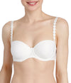 L'Aventure 'Tom' (Natural) Strapless Bra - Sandra Dee - Model Shot - Front