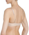 L'Aventure 'Tom' (Caffé Latte) Padded Balconnet Bra - Sandra Dee - Model Shot - Rear