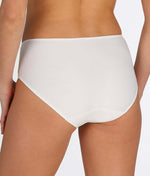 L'Aventure 'Tom' (Natural) Full Briefs - Sandra Dee - Model Shot - Rear