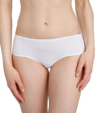 L'Aventure 'Tom' (White) Hotpants - Sandra Dee - Model Shot - Front