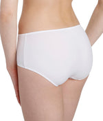 L'Aventure 'Tom' (White) Shorts (Hotpants) - Sandra Dee - Model Shot - Rear