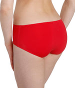 L'Aventure 'Tom' (Scarlet) Seamless Shorts - Sandra Dee - Model Shot - Rear
