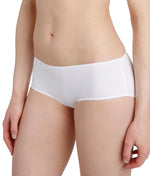 L'Aventure 'Tom' (White) Seamless Shorts - Sandra Dee - Model Shot - Side