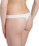 L'Aventure 'Tom' (Natural) Thong - Sandra Dee - Model Shot - Rear