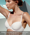 L'Aventure 'Tom' (Natural) Padded Plunge Bra (Heart Shape) - Sandra Dee - Collection Publicity Shot