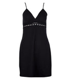 Lise Charmel 'Ajourage Couture' (Black) Mid Length Dress - Sandra Dee - Product Shot - Front