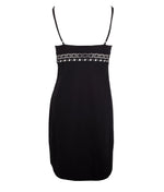 Lise Charmel 'Ajourage Couture' (Black) Mid Length Dress - Sandra Dee - Product Shot - Rear