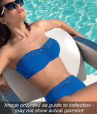 Lise Charmel 'Ajourage Couture' (Etrave Bleu) Underwired Bandeau Bikini Bra - Sandra Dee - Collection Publicity Shot