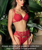 Lise Charmel 'Dressing Floral' (Dressing Solaire) Padded Plunge Bra - Sandra Dee - Collection Publicity Shot