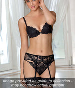 Lise Charmel 'Dressing Floral' (Noir) Full Cup Bra - Sandra Dee - Collection Publicity Shot