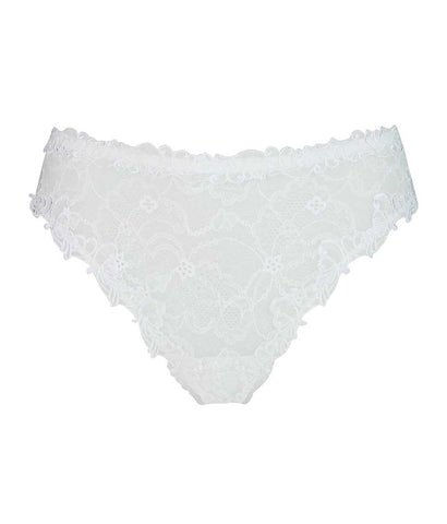 Lise Charmel 'Soir de Venise' (Blanc/White) Seduction Brief - Sandra Dee - Product Shot - Front