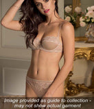 Lise Charmel 'Splendeur Soie' (Splendeur Aurore) Seduction Brief - Sandra Dee - Collection Publicity Shot