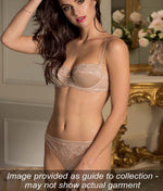 Lise Charmel 'Splendeur Soie' (Splendeur Aurore) 3 Part Full Cup Bra - Sandra Dee - Collection Publicity Shot