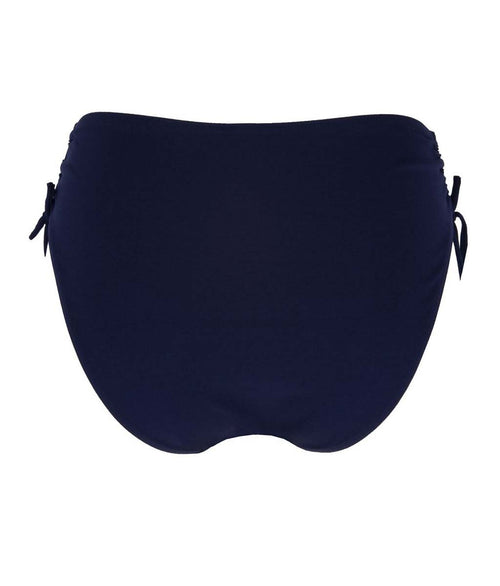 Lise Charmel 'Sporty Plage' (Nuit Cobalt) Adjustable Side Bikini Brief - Sandra Dee - Product Shot - Rear