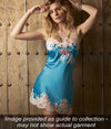 Marjolaine 'Gemma' (Pacific/Natural) Silk Chemise - Sandra Dee - Collection Publicity Shot