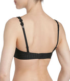 Marie Jo 'Avero' (Black) Strapless Bra - Sandra Dee - Model Shot - Rear
