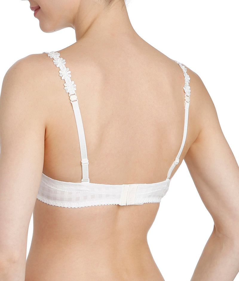 Marie Jo 'Avero' (Natural) Padded Plunge Multiway Bra - Sandra Dee - Model Shot - Rear