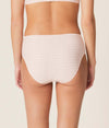 Marie Jo 'Avero' (Pearly Pink) Full Brief - Sandra Dee - Model Shot - Rear