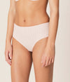 Marie Jo 'Avero' (Pearly Pink) Full Brief - Sandra Dee - Model Shot - Side