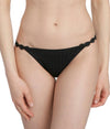Marie Jo 'Avero' (Black) Low Waist Brief - Sandra Dee - Model Shot - Front