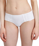 Marie Jo 'Avero' (White) Hotpants - Sandra Dee - Model Shot - Front