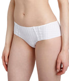 Marie Jo 'Avero' (White) Hotpants - Sandra Dee - Model Shot - Side