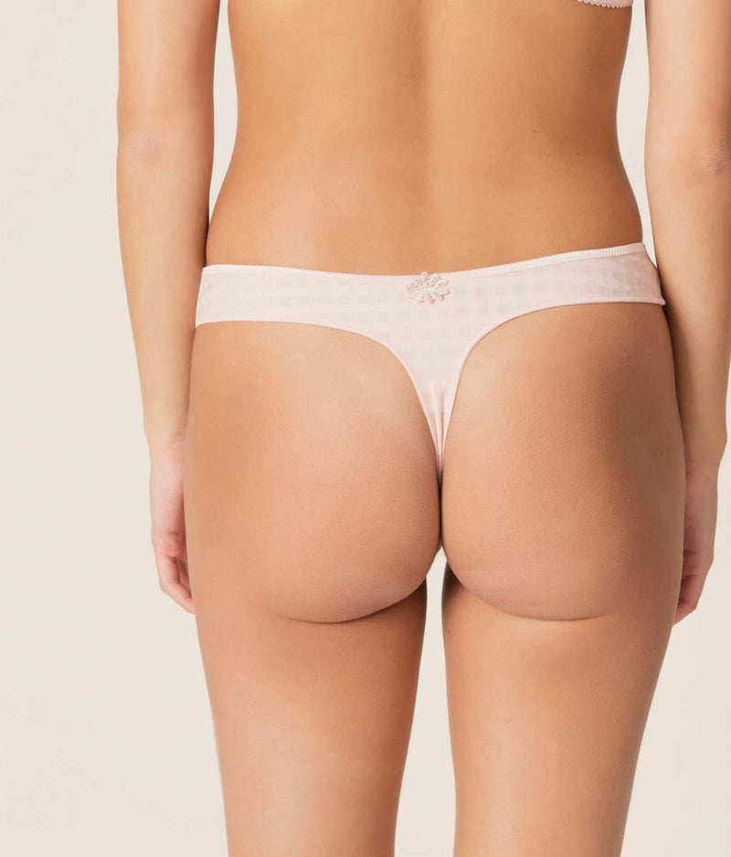 Marie Jo 'Avero' (Pearly Pink) Thong - Sandra Dee - Model Shot - Rear