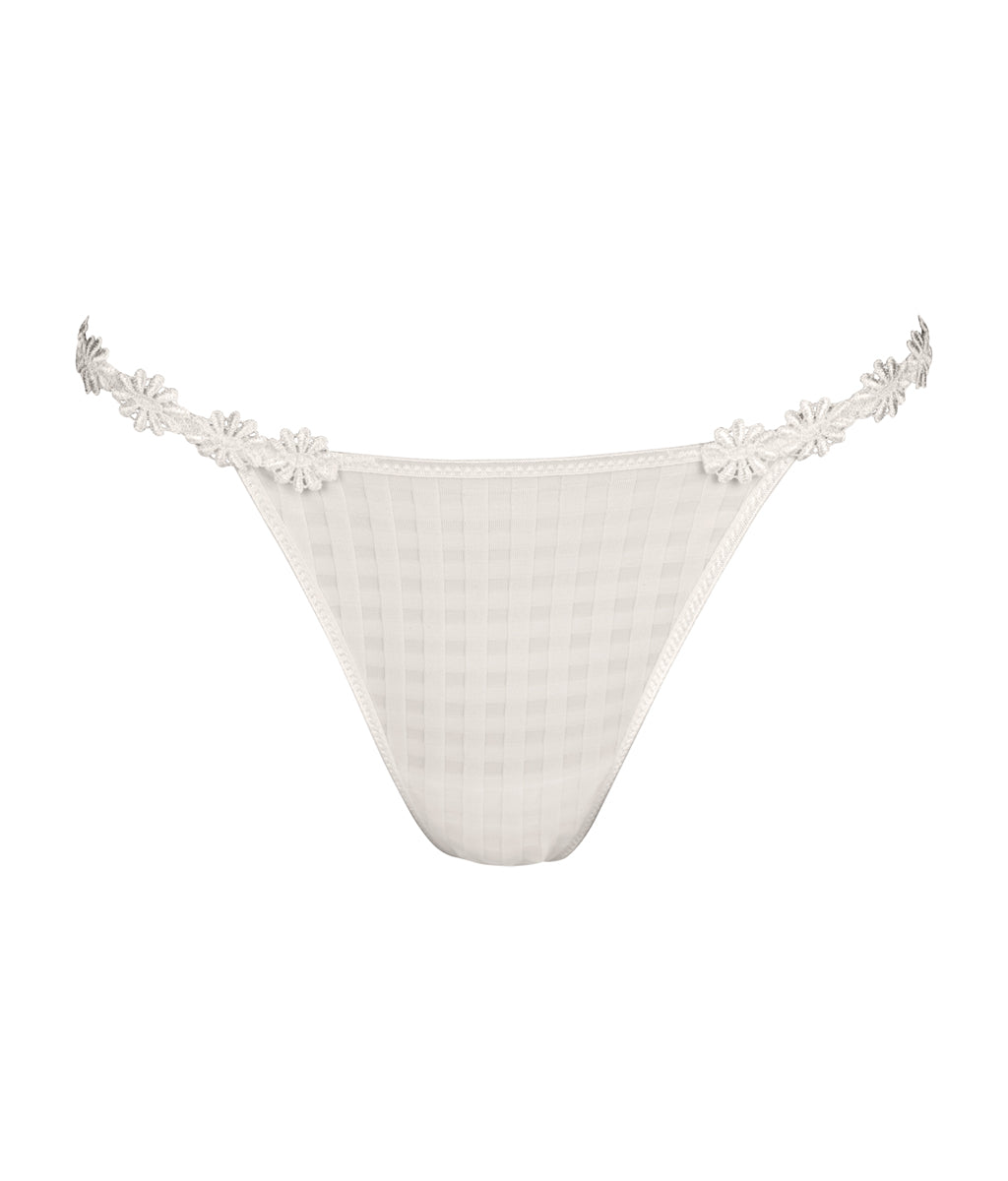 Marie Jo 'Avero' (Natural) G String - Sandra Dee - Product Shot - Front