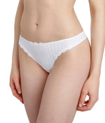 Marie Jo 'Avero' (White) G String - Sandra Dee - Model Shot - Side