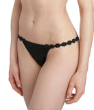 Marie Jo 'Avero' (Black) G String - Sandra Dee - Model Shot - Side