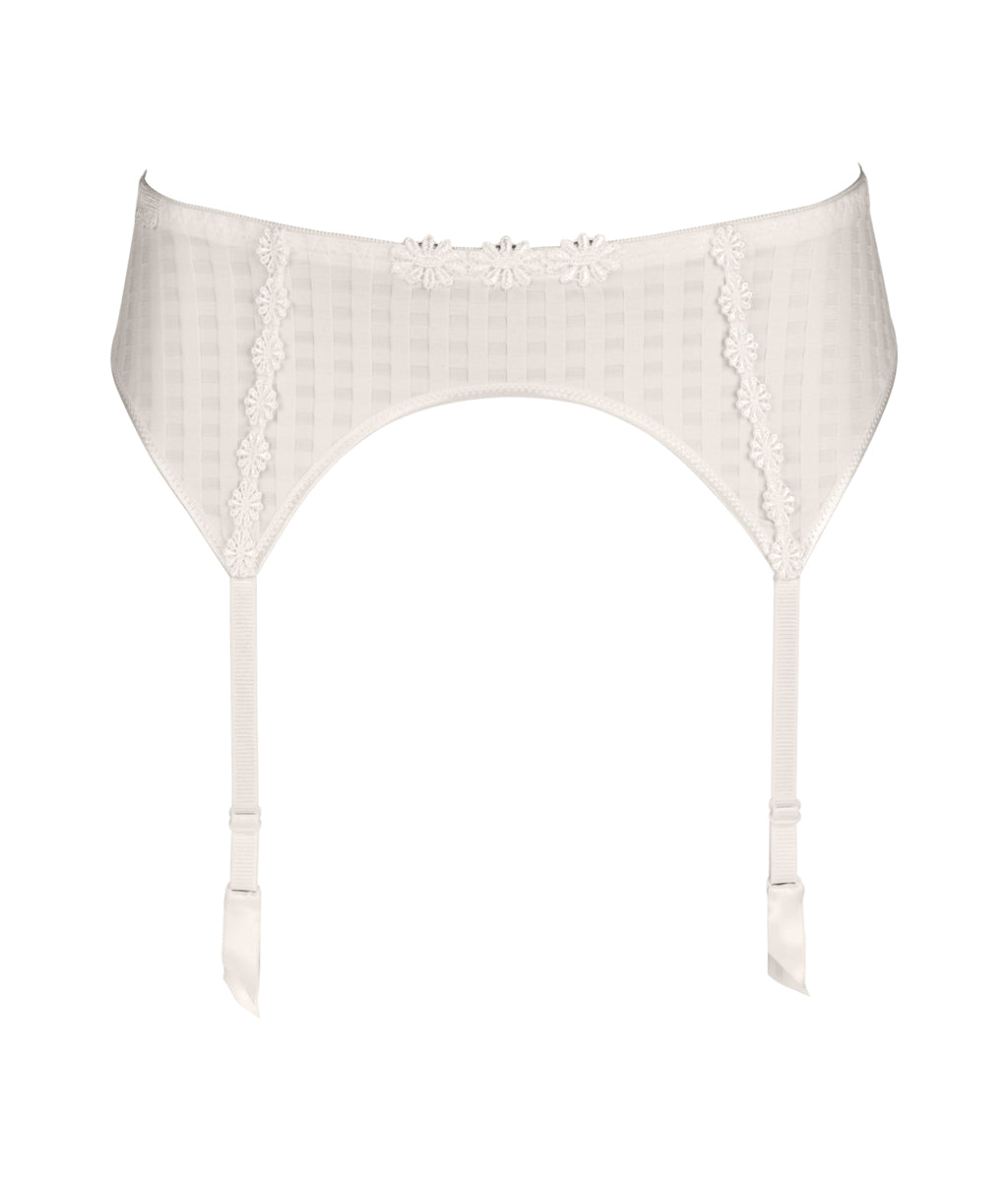 Marie Jo 'Avero' (Natural) Suspender Belt - Sandra Dee - Product Shot - Front
