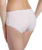 Marie Jo 'Color Studio' Basic (White) Shorts - Sandra Dee - Model Shot - Rear