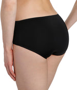 Marie Jo 'Color Studio' Basic (Black) Shorts - Sandra Dee - Model Shot - Rear