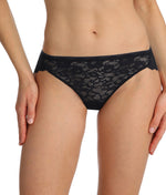 Marie Jo 'Color Studio' Lace (Black) Rio Brief - Sandra Dee - Model Shot - Front